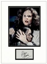Piper Laurie Autograph Signed Display - Carrie